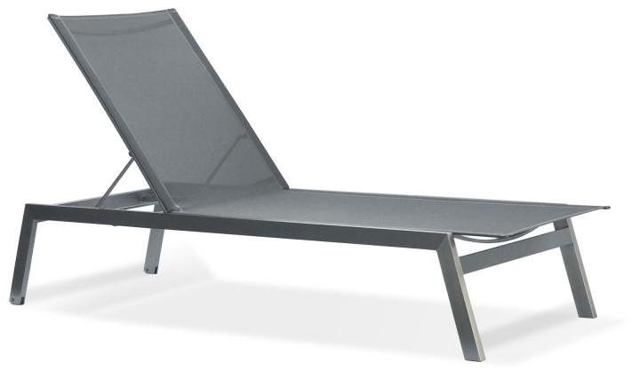 Zebra Gartenmobel Weiss :   Kombination  Edelstahl  Edelstahl Sonnenliegen und Deckchairs