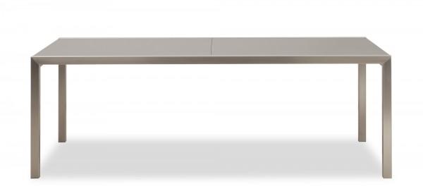 Edelstahl Tische mit HPL-Kunstharz