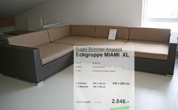 Eckgruppe Miami Angebot Schoko