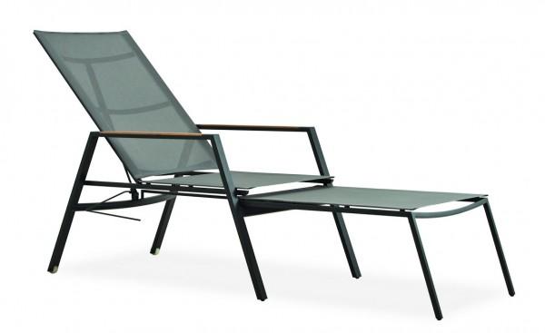 Deckchair BERMUDA | Gestell Anthrazit