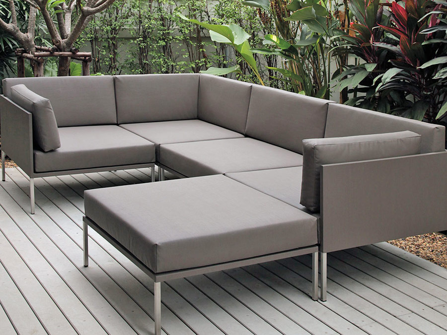 Barbados modul system innovative materialien lounge for Sofa entsorgen