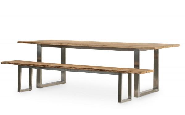 Tische INDIANA + 2 Sitzbänke