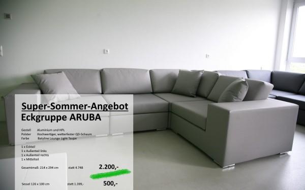 Modulsystem ARUBA - Eckgruppe