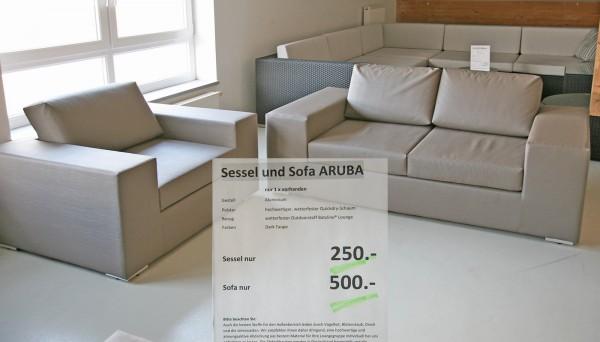 Modulsystem ARUBA - Restbestände