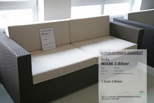 Sofa MIAMI 3-Sitzer Angebot
