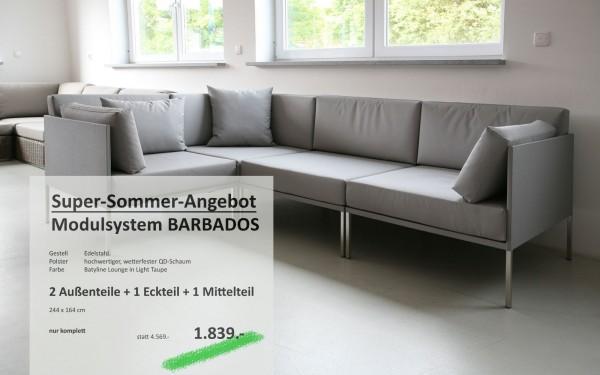 Modulsystem BARBADOS taupe