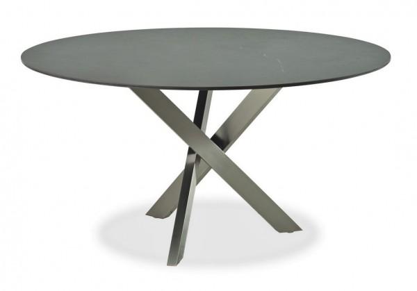 Tisch ANTIGUA Keramik Kreuzgestell