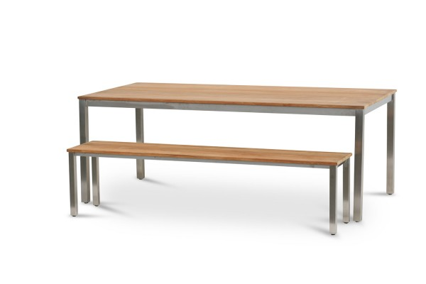 Tische Nebraska + 2 Sitzbänke