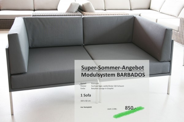 SOFA BARBADOS Graphit