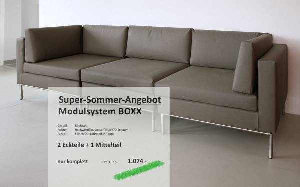BOXX Modul-System Taupe
