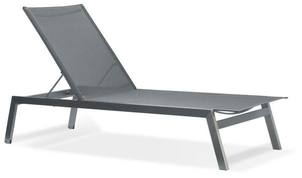 Edelstahl Sonnenliegen und Deckchairs