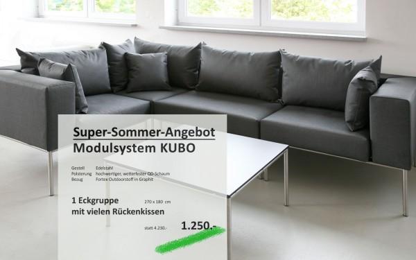 Modulsystem KUBO Eckgruppe